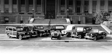 jeep model history jeep 174 historia