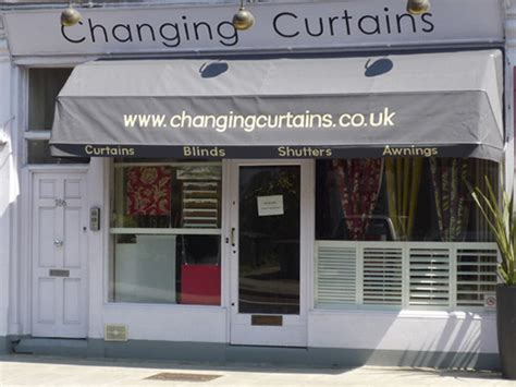 the drapery shop changing curtains 186 archway road highgate north london