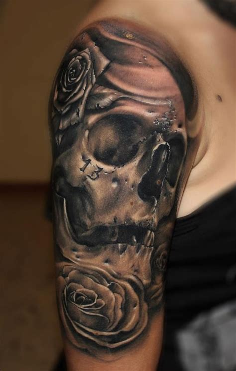 best 20 skull roses tattoo ideas on pinterest skull 35 best skull tattoo designs for men images on