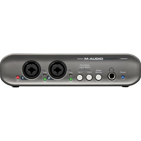 m audio mobilepre mk ii usb audio interface 9900 60005
