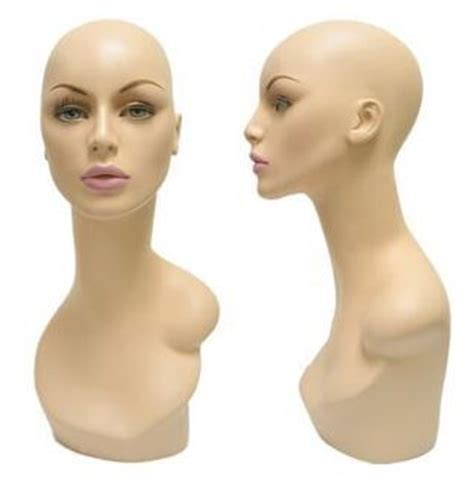female display heads mannequin head forms display mannequin head display head jewelry display female head