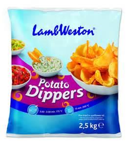 Home shop vegetables lamb weston potato dippers 2 5kg