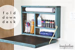 diy fold up desk painted fold desk honeybear