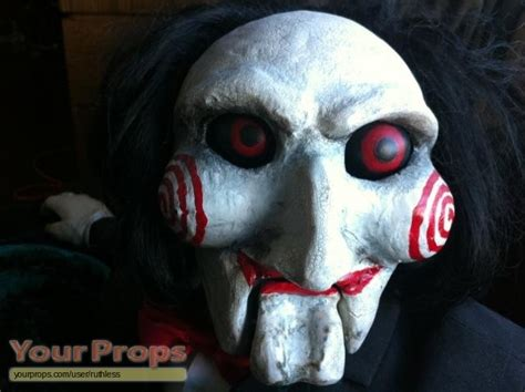 jigsaw film saw saw ii jigsaw puppet original movie prop
