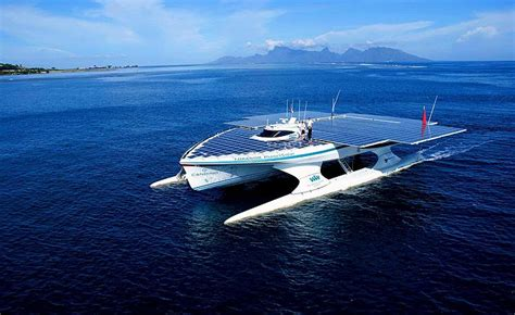 the biggest boat in the whole world planetsolar catamaran world biggest solar powered boat
