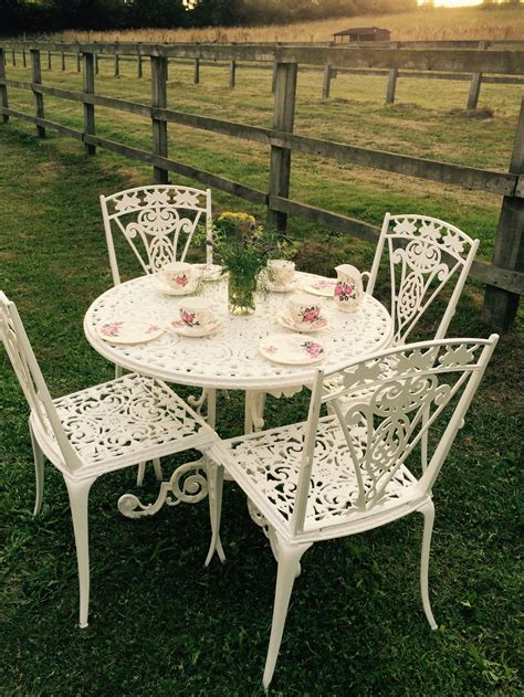 tea table and chairs vintage furniture furniture and events
