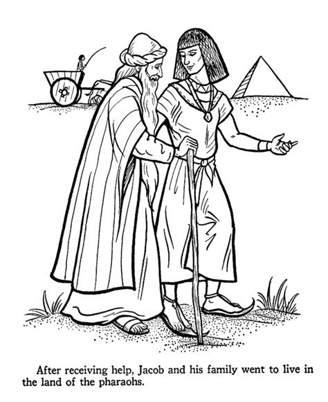 coloring pages of joseph story joseph bible story coloring page sunday school