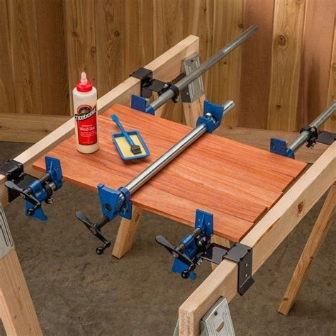 rockler pipe clamp mounting brackets   woodworking