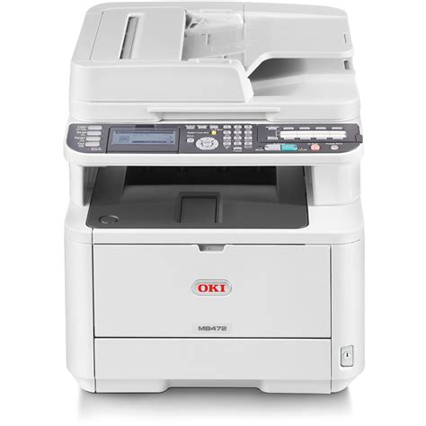 Printer Oki oki mb472dnw a4 mono multifunction led laser printer 45858401
