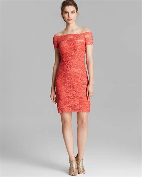 Nicoles Dress by Miller Dress Shoulder Lace In Lyst