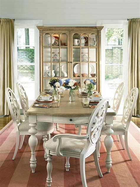 dining room in cottage dining room sets marceladick