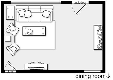 Living Room Floor Plans by Living Room Layout Ergonomia E Detalhes Tecnicos