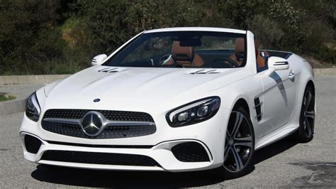Mercedes Sl 2017 Mercedes Sl Class Drive Autoblog