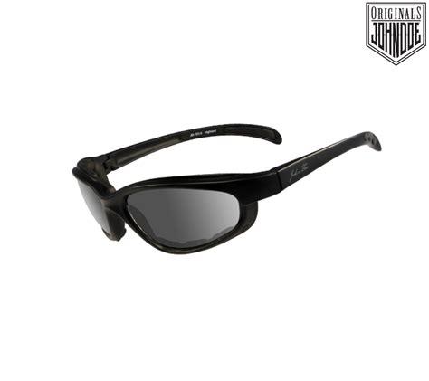 Motorradbrille John Doe by John Doe Brille Quot Highland Black Quot Mit Grauem Glas