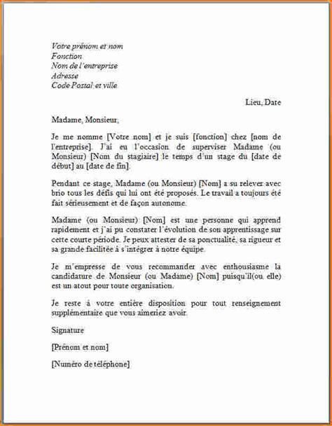 Exemple De Lettre De Recommandation Vente 10 Mod 232 Le Lettre De Recommandation Professionnelle Exemple Lettres