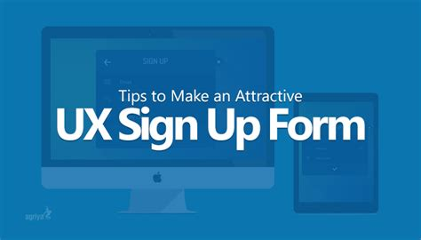 7 Tips To Create A Free Website by 7 Tips To Make An Ux Sign Up Form Attractive