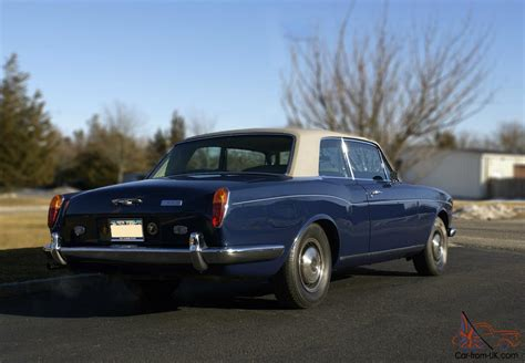 bentley corniche 1973 bentley corniche 6 8l coupe fhc by m p w one