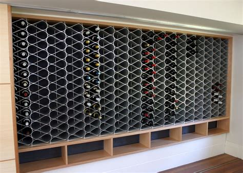 Metal Wine Racks by Architectural Metal Wine Rack Are Now Available
