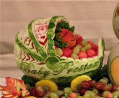 Baby Shower Fruit Watermelon by Watermelon Baby Carriage Fancy Variations On Nita S