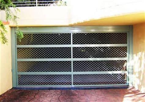 Mesh Garage Door Garage Door Gallery Steel Line Garage Doors
