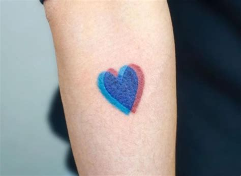 3d heart tattoo tattoo collections