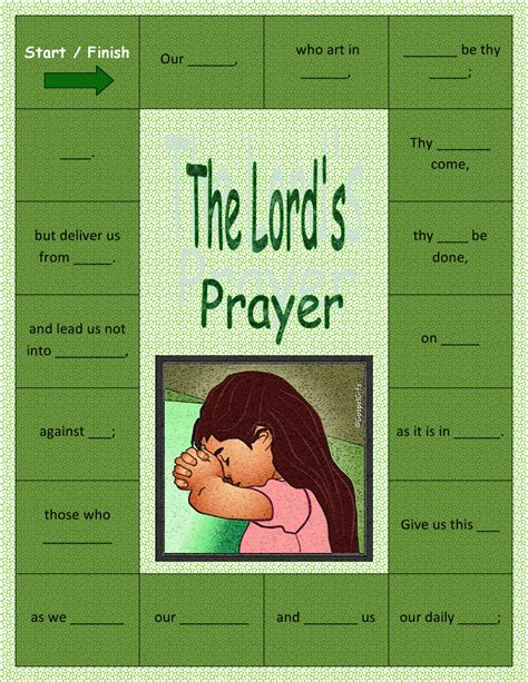 The Lord S Prayer Board Book the lord s prayer