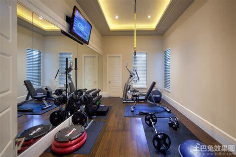 home workout room design pictures 家庭健身房装修图片 土巴兔装修效果图