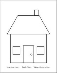Shape Of House home unit on pinterest tooth brushing preschool and house