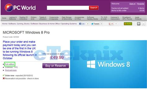 windows 8 top world pic pc world falsely advertise windows 8 eteknix