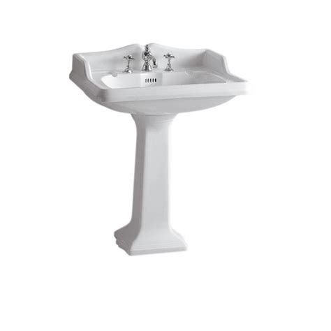 large pedestal sinks bathroom whitehaus collection china series large traditional