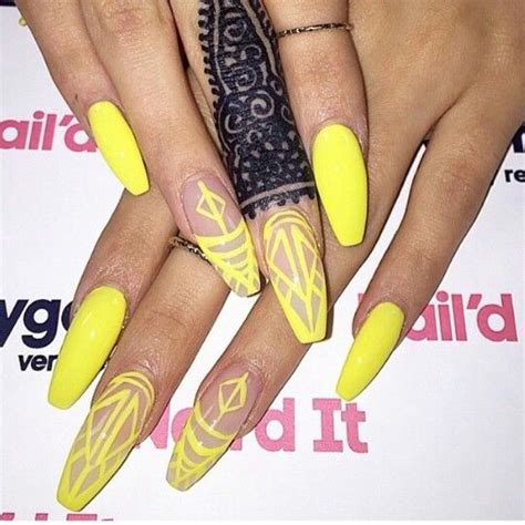 Neon Nail by Neon Yellow Nails Designs Www Pixshark Images