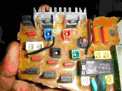 tarjetas electronicas de lavadoras diagrama electronico de tarjeta lavadora samsung wa17w7sdp