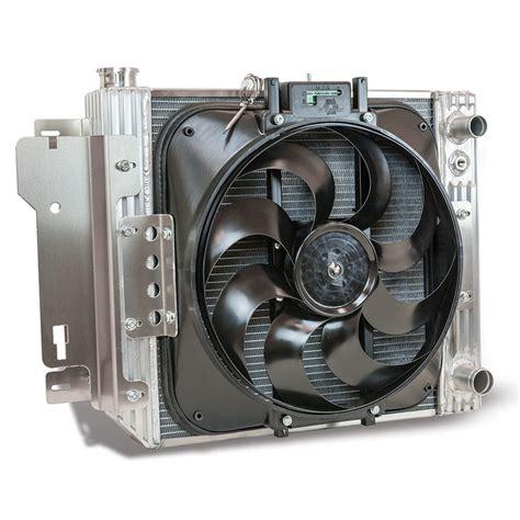 aluminum radiator with electric fan flex a lite 51187ls aluminum radiator with electric fan
