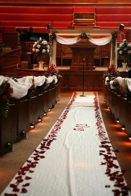 {Wedding Inspiration} Red and Black Ceremony Decor   Mrs