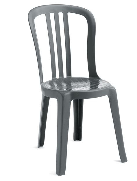 Plastic Bistro Chairs Charcoal Grosfillex Resin Finish Restaurant Miami Bistro Dining Patio Pool Side Chair Call For