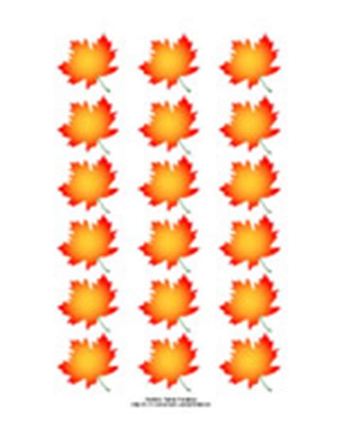printable fall leaf tags printable maple leaf stickers and labels