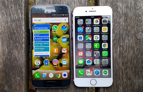 iphone v galaxy iphone 7 vs galaxy s7 review should you upgrade