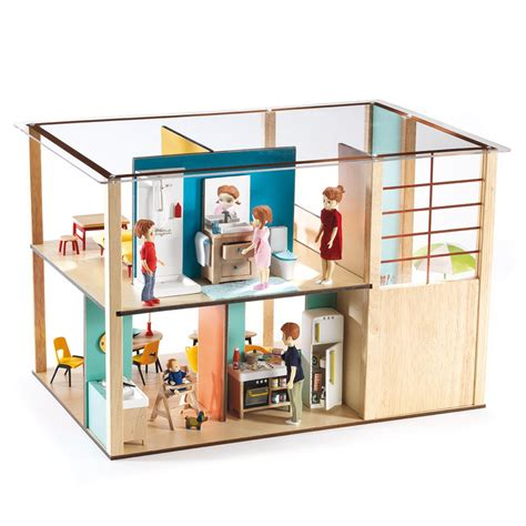 small figures for dolls house cubic house dolls house djeco toys and hobbies children