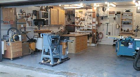 garage woodworking shop  plans diy home studio