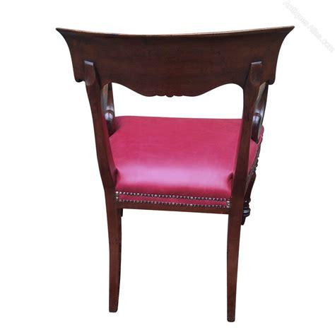 armchair desk antique william 1v mahogany desk chair or armchair