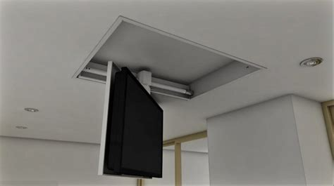 staffe tv a soffitto tv moving mfcs staffa tv motorizzata da soffitto per tv