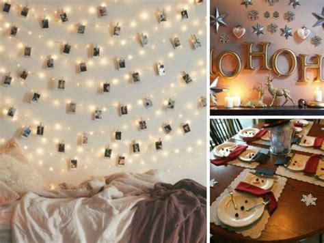 decora tu cuarto sin gastar mucho 10 ideas para decorar tu casa en navidad sin gastar mucho