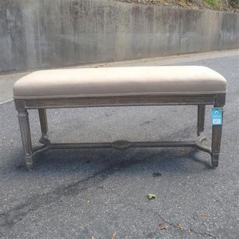 ottomans köln upholstered bench nadeau nashville