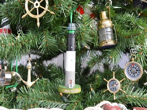 oak island christmas ornament buy oak island lighthouse tree ornament boats model