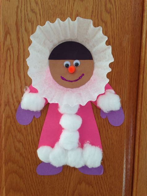 crafts winter eskimo craft winter craft preschool craft special