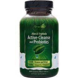 Ascended Health Active Detox Probiotic by Irwin Naturals Active Cleanse And Probiotics 60