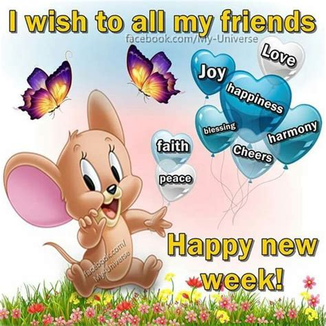 happy week images i wish to all my friends happy new week pictures photos