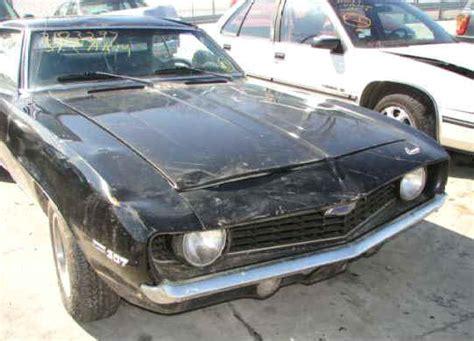 1969 Camaro Z28 For Sale $4,900