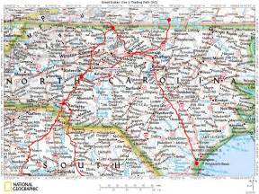 map virginia carolina historic roads trails paths migration routes virginia