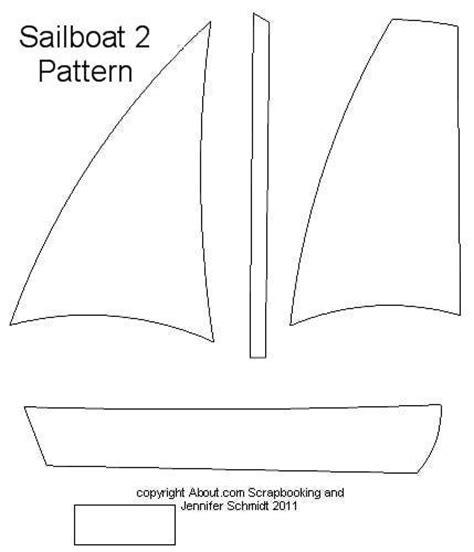 pattern paper templates large sailboat pattern free scrapbook paper piecing